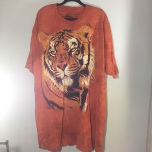 The Mountain tiger T shirt in orange